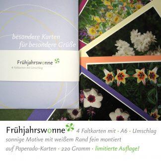 """Faltkarten """"Frühjahrswonne"""""""
