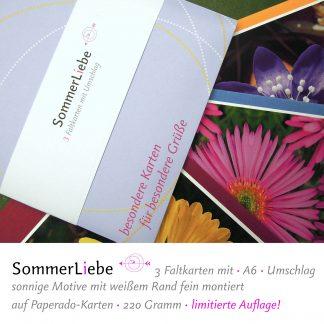 Faltkarten Sommerliebe